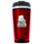 SI red travel mug
